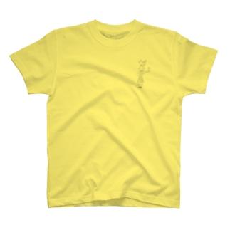 まがたまたましい Tシャツ