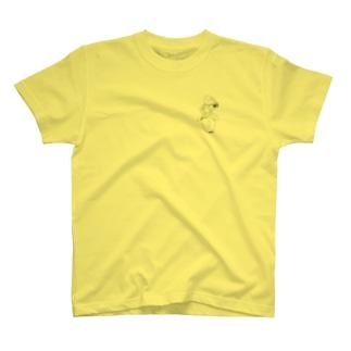 えりんぎあたま Tシャツ