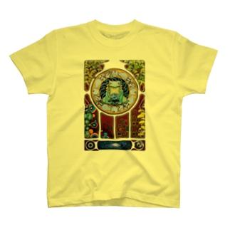 繰り還る生命循環(背景抜き) T-shirts