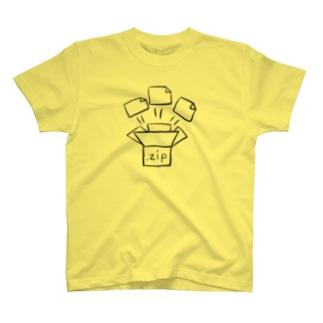 じっぷふぁいる T-shirts