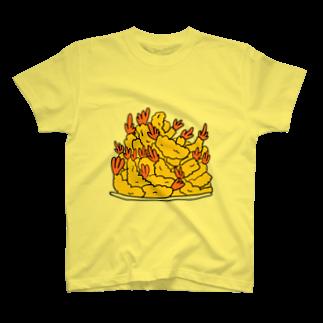 ✳︎トトフィム✳︎の出来立てあつあつエビフライ T-shirts