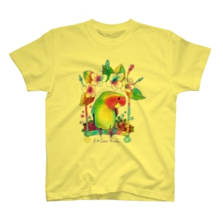 Love bird & Sakura T-shirts