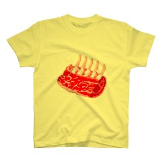 羊肉塊 T-shirts