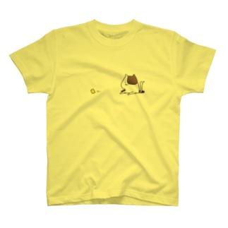 食欲が湧いたネコ T-shirts