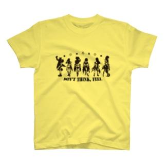 UZA☆SEPTET黒 T-shirts