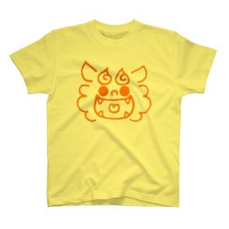 ごきげんシーサー(KIDS) T-shirts
