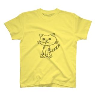 おしゃべりニャンコみかんちゃん T-shirts