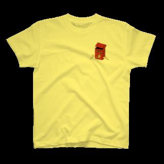フランスピアノ山本のイラストたちのほんだ T-shirts