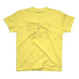本好き大集合 T-shirts