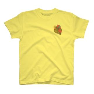蝕まれる心(レトロ) T-shirts