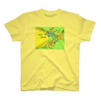 ご当地ねじゅみ 熊本 T-shirts
