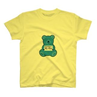 スピグマさん ブルー T-shirts