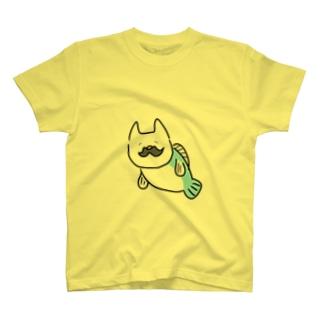 ひげねこさかな T-shirts