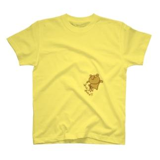 ゲシゲシ!ウゲロくま T-shirts
