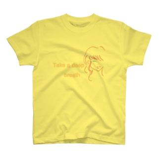 Take a deep breath T-shirts