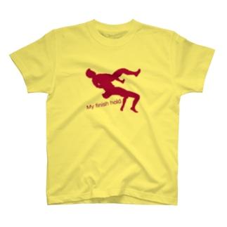 My finish hold T-shirts