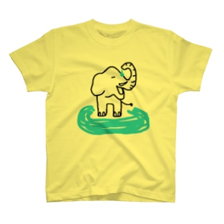 水あびぞうさん Vo.2 T-shirts