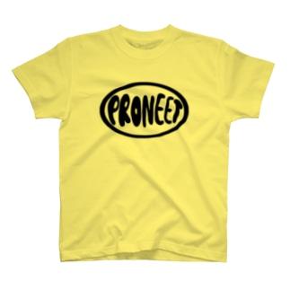 PRONEETまるいロゴ T-shirts