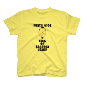 BOY-designの武将髭 T-shirts