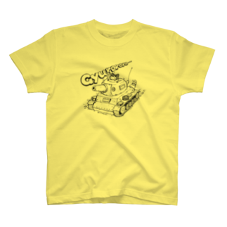 木村いこのネコ戦車Tシャツ T-shirts