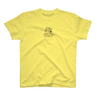 夏祭りワンポイントシャツ薄い色 Tシャツ T-shirts