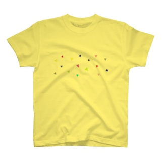 POPな三角 T-shirts