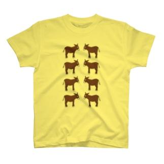 ロバの子ドンキーお見合い2 T-shirts