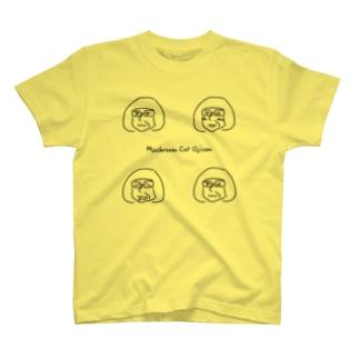 Mushroom Cut Ojisan T-shirts