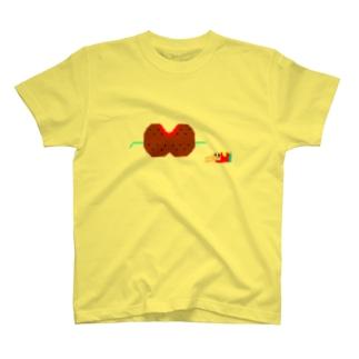 おなかいっぱい T-shirts