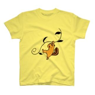 シマリスアドベンチャー T-shirts