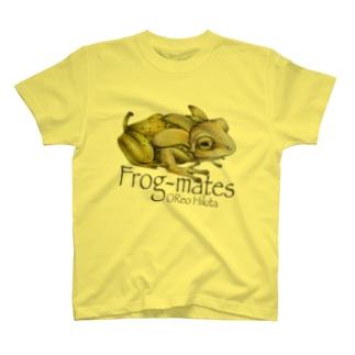 カエルメイトより「バナナガエル」 T-shirts