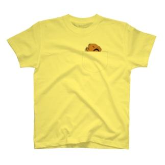 Lichtmuhleのポケットでネンネするモルモット01 T-Shirt