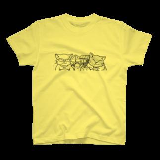NEKOGETのにゃーん T-shirts