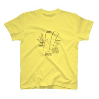 お出汁 T-shirts