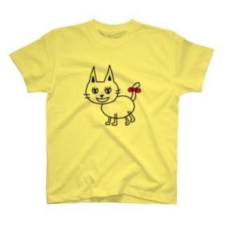 ねこ(๑ↀᆺↀ๑)✧ T-shirts