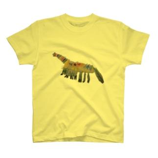 くびながりゅう T-shirts