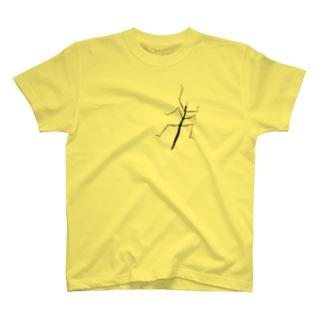 ナナフシ [アニマルシリーズ No.07] T-shirts