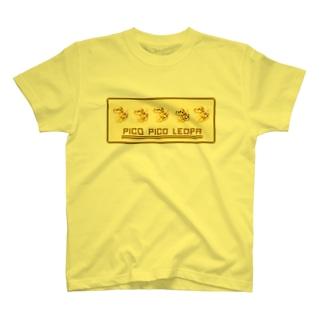 ピコピコレオパ T-shirts