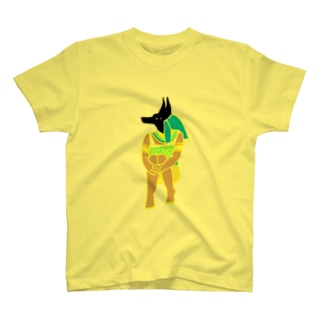 体育座りアヌビス神 T-shirts