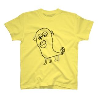 伝説の透明なウナギイヌ T-shirts
