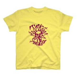 パンジーTシャツ T-shirts