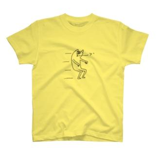んぱっ(°Д°)のえあばいく T-shirts