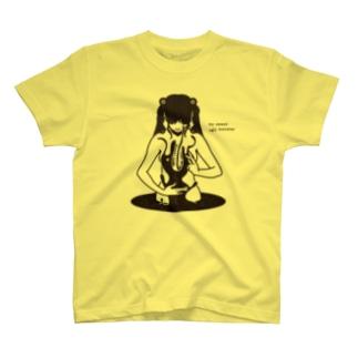 erubakki_my sweet ugly monster T-shirts