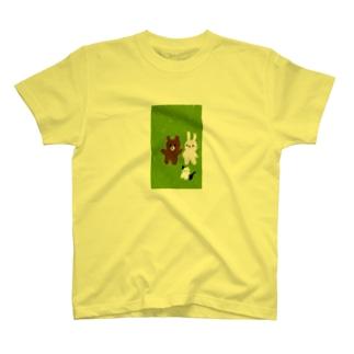 クマーチャとヨシチャとハナチャ T-shirts