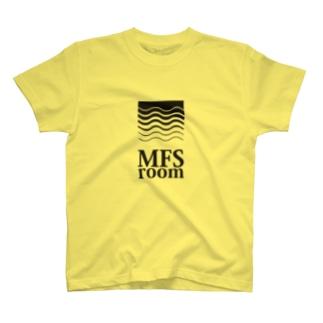 MFS room trim5(黒) T-shirts
