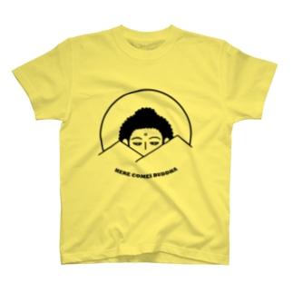 Here Comes Buddha T-shirts