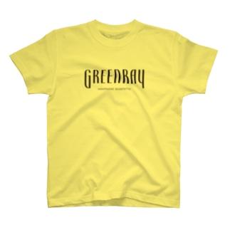 【黒ロゴ横長】ぐりーんれい T-shirts