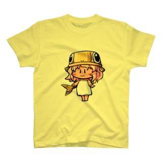 ゴールドのうおさん(魚座) T-shirts