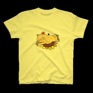ぺけ丸のお昼寝くま T-shirts