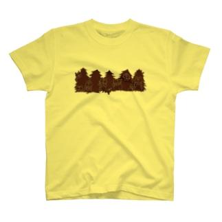 クリスマス限定 もみの木(チョコレート) T-shirts